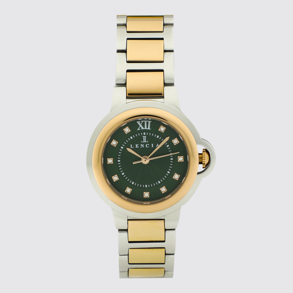 Lencia Analog Watch-LC7174H12 1
