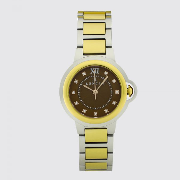 Lencia Analog Watch-LC7174H9 1