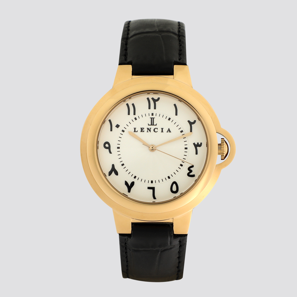 Lencia Analog Watch-LC7374D3 1