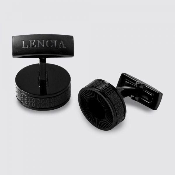 Lencia Cufflink Black - LCF-LS-2262.BB 1